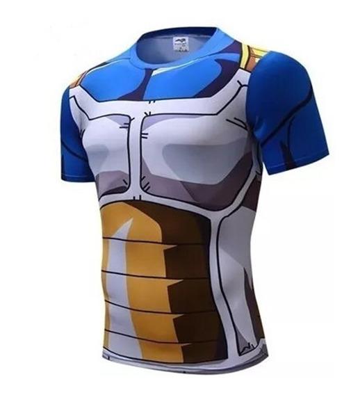 Camisa Camiseta Masculina Compressão Térmica Heroi 3d