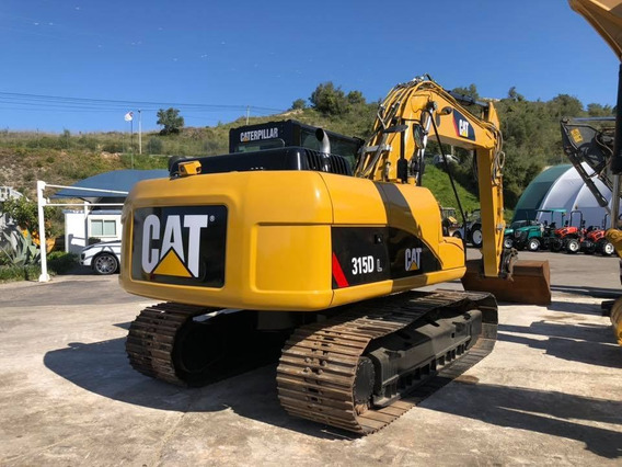 Escavadeira Caterpillar 315 Dl Ano 2012