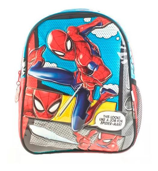 Mochila Spiderman Espalda 12 Original Wabro