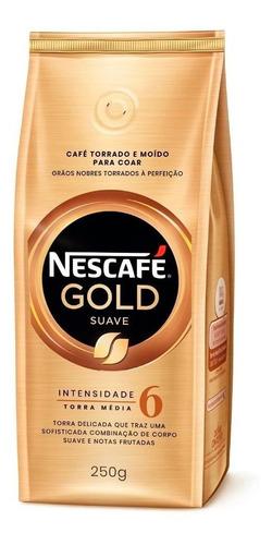 Cafe Molido Suave Nescafe Gold 250 Gr