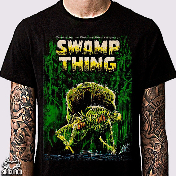 Camiseta Swamp Thing , Monstro Do Pântano, Vertigo Comics