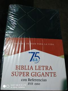Biblia Letra Súper Gigante