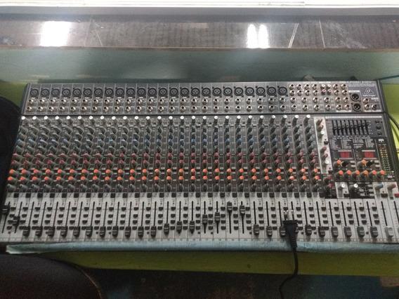 Mesa De Som Behringer Eurodesk Sx3242