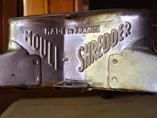 Made In France Antiguo Rallador Mouli Shredder Vintage Retro