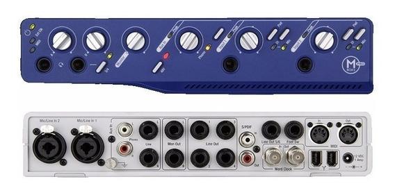Placa Interface De Audio Mbox 2 Pro Firewire 6x4 Canais