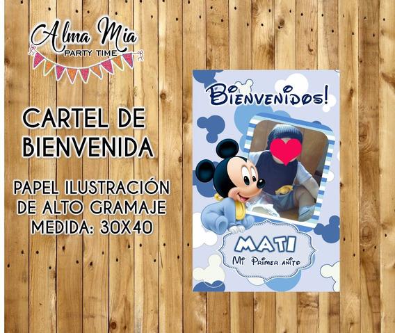 Cartel De Bienvenida Imprimible Poster Personalizado