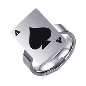 Anel Spade 3 - Tamanho Americano 6,7,8,9