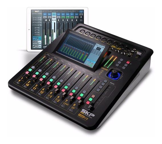 Mesa De Som Digital 20 Canais Profissional Promoção D-touch