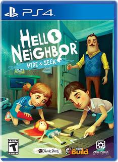 Helloneighbor Hide Y Seek Ps4 Nuevo Fisico Xstation