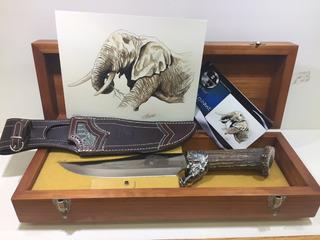 Cuchillo De Lujo Big Five Muela, Elephant