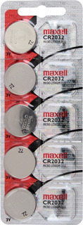 Pack De 5 Pilas Maxell De Litio Cr2032 - Originales