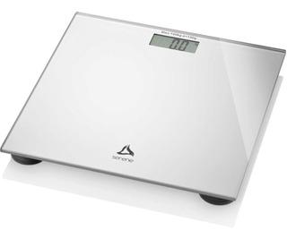 Balança Digital Lcd Peso Corporal Ate 180kg Vidro Prata Sli