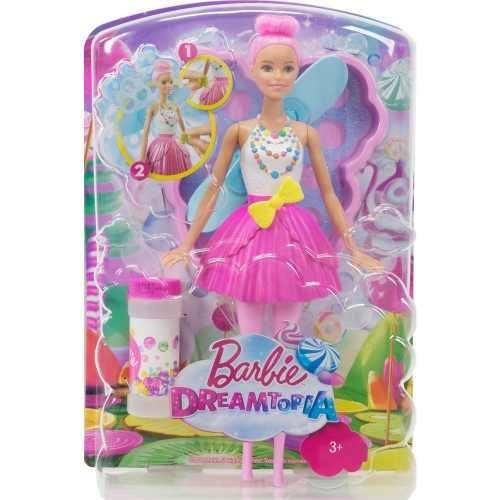 Barbie Fada Bolhas Magicas Dreamtopia Mattel