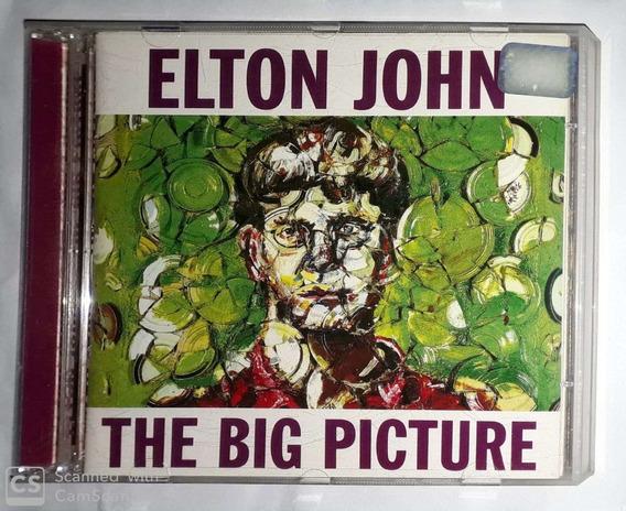 Cd Elton Jonh- The Big Picture ( Cd Estado De Novo)*