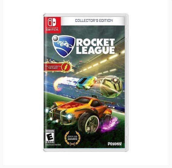 Rocket League Collectors Edition Switch Lacrado