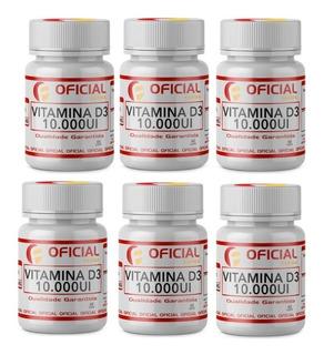 Vitamina D3 6 Potes Original Envio Imediato