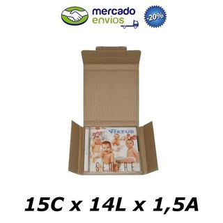 200 Caixas De Papelão 15 X 14 X 01 P/01 Cd Correio Pac Sedex