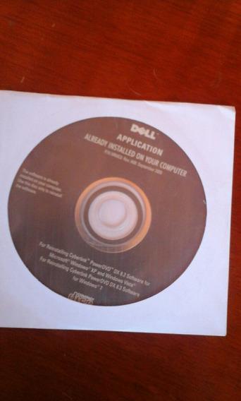 Cd Dell Aplicativo Cyberlink Power Dvd Dx 8. 2 8. 3 Ler..