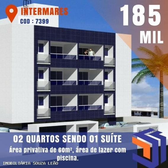 Apartamento Para Venda Em Cabedelo, Intermares - 7399