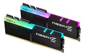 Memória G.skill Tridentz Rgb Series Ddr4 3200mhz 32gb 2x16gb