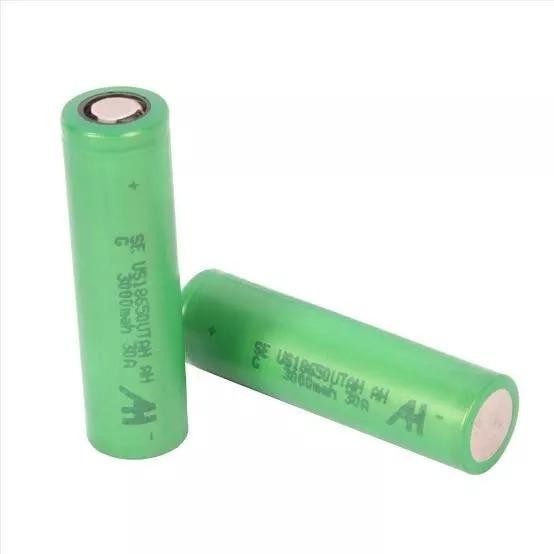 2 Bateria 18650 3000mah 30a Vape Vaper Vaporizador