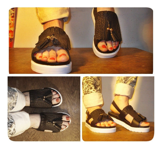 Sandalia Con Plataforma Mini No Maria Cher No Jazmin Chebar