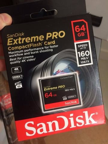 Compact Flash Sandisk Extreme Pro 64 Gb