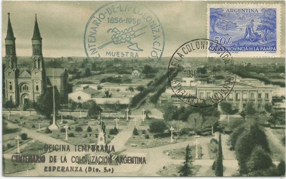 Antigua Postal Plaza San Martín Esperanza, Santa Fé