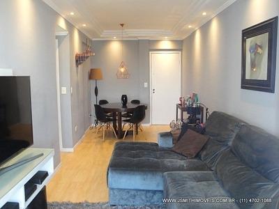 Apartamento Para Venda, 2 Dormitórios, Jardim Ester Yolanda - São Paulo - 160