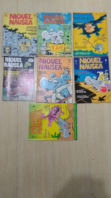 Raridades Revistas Niquel Nausea Antiga Coleçao