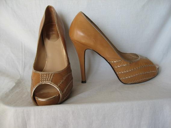 Stilettos Cole Haan, N° 40, 10b, Cuero,importados
