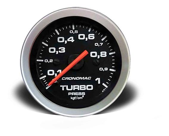Manômetro Pressão Turbo 52mm Mecânico 1kg Sport
