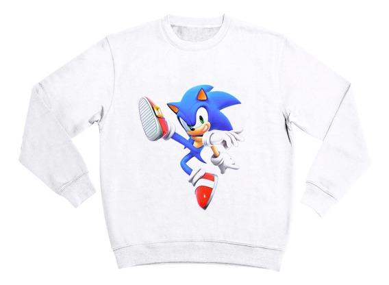Sudadera Sin Gorro Sonic Película Niño 5 A 16 Años Moda
