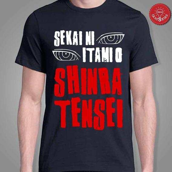 Camiseta Pain Nagato Naruto Shinra Tensei