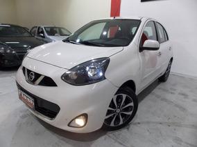 Nissan March 1.6 Sl 2015 Couro + Multimidia (top De Linha)