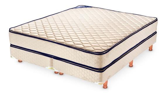 Sommier Y Colchón Piero Bahia Pillow Top De 160 X 190 Cm