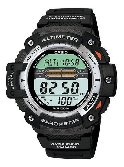 Reloj Casio Digital Barometro Termo Alarma Mod Sgw-300h-1av