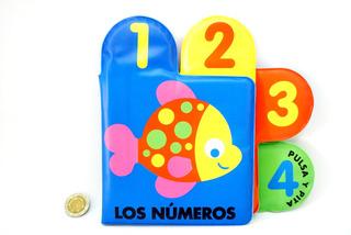 Libro Infantil Numeros Baño Con Chifle Distal Para El Agua