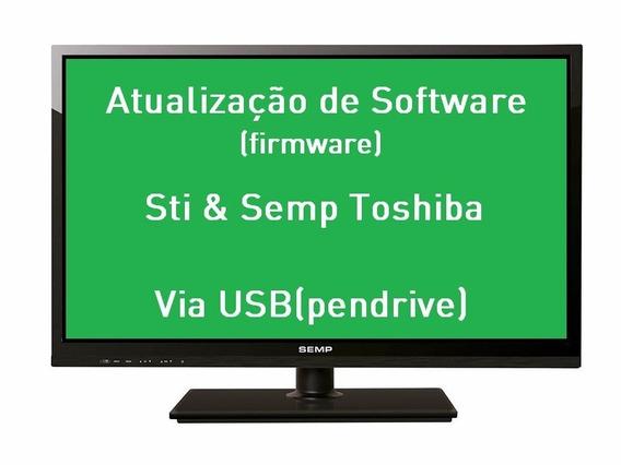 Atualização De Software Tv Semp Toshiba Le3273(a)w - Le3273