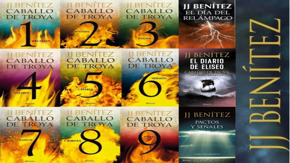 Paquete Caballo De Troya + Colección Jj Benitez 42 Libros :)