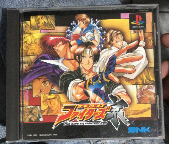 Playstation 1 Jogo Jap Ps1 The King Of Fighters Kyo