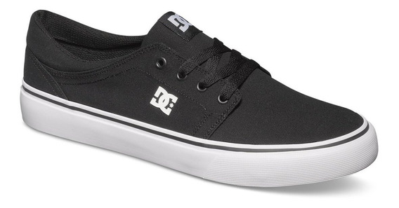 Tenis Hombre Urbano Trase Tx Mx Negro/blanco Dc Shoes