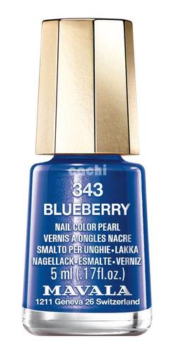 Esmalte Mavala Mini Blueberry 343