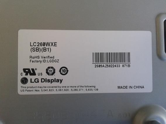 Display Lcd Lg Lc260wxe (sb) (b1) Semi Novo