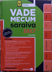 Vade Mecum Saraiva 2017 24ª Edição (usado)