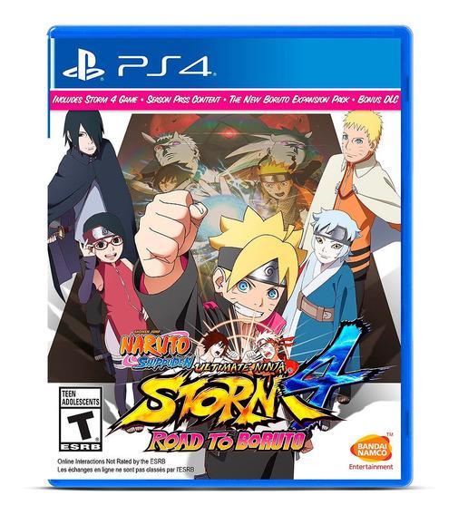 Naruto Ninja Storm 4 Road Boruto Ps4 Midia Fisica Português