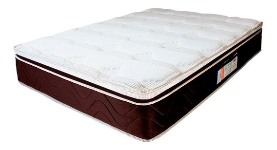 Colchão Casal Mola Verticoil Pillowtop 138x188x30cm - Duke