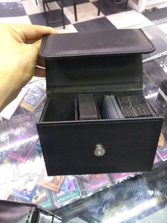 Porta Deck Box Tipo Piel P/250 Cartas Yugioh Pokemon Magic