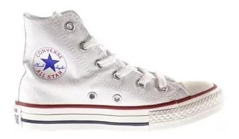 Zapatos Converse Blanca All Star Botas Clasico (tienda)