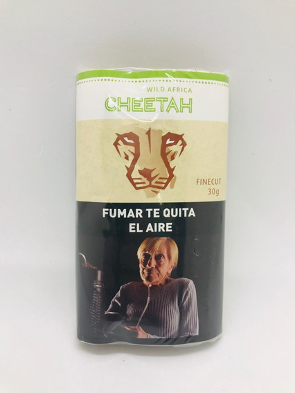 Tabaco Cheetah 30g P/armar Cigarrillos Local Once Candyclub